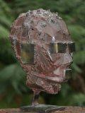 Halliday Avray Wilson A.R.B.S., Born 1967, HEAD DDB, Signed, Welded Bronze, Height  33cm.; 13in., Estimate £3,000 - 4,000036