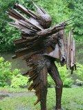 Halliday Avray-Wilson, Born 1967, Blast Figure, Steel, Unique, 230cm. high, £15000 - £20000039
