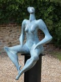 Isaac Kahn, Born 1950 Lithuania, Harmony, Bronze, Signed and numbered 6 of , 169cms high by 71cms wide, £12000 - £18000052
