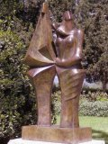 Isaac Kahn, Born 1950, The Family, Bronze, 210 cms high excluding base,From an edition of 3, £40,000 - £50,000057