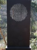 Jonathan Loxley, Born 1960, Sunflower, Slate on Steel Base, 218 cms, 82ins high 100cms,39ins wide £4,000 - £6,000074