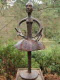 Quentin Clemence, Born 1956, Ballerina, Copper, Signed, Unique, 200cms high bb