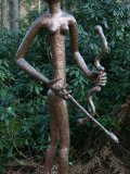 Quentin Clemence, Born 1956, Diana the Huntress, Copper, Unique, 210 cms. high, bb