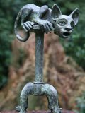 Quentin Clemence, Born 1956, Picassos' Cat, Bronze, Signed and Numbered 3 of 9, 45cms.  high, bb
