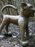Quentin Clemence,Born 1956, The Lion, Copper,84cms,33ins high, 82cms,32ins wide,  bb