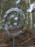 Wilfred Pritchard !@, Stainless steel, edition of 5, 200cms high, £5-8k155