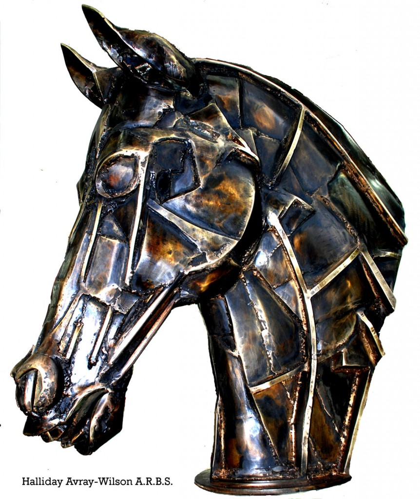 Warhorse, bronze, halliday avray wilson