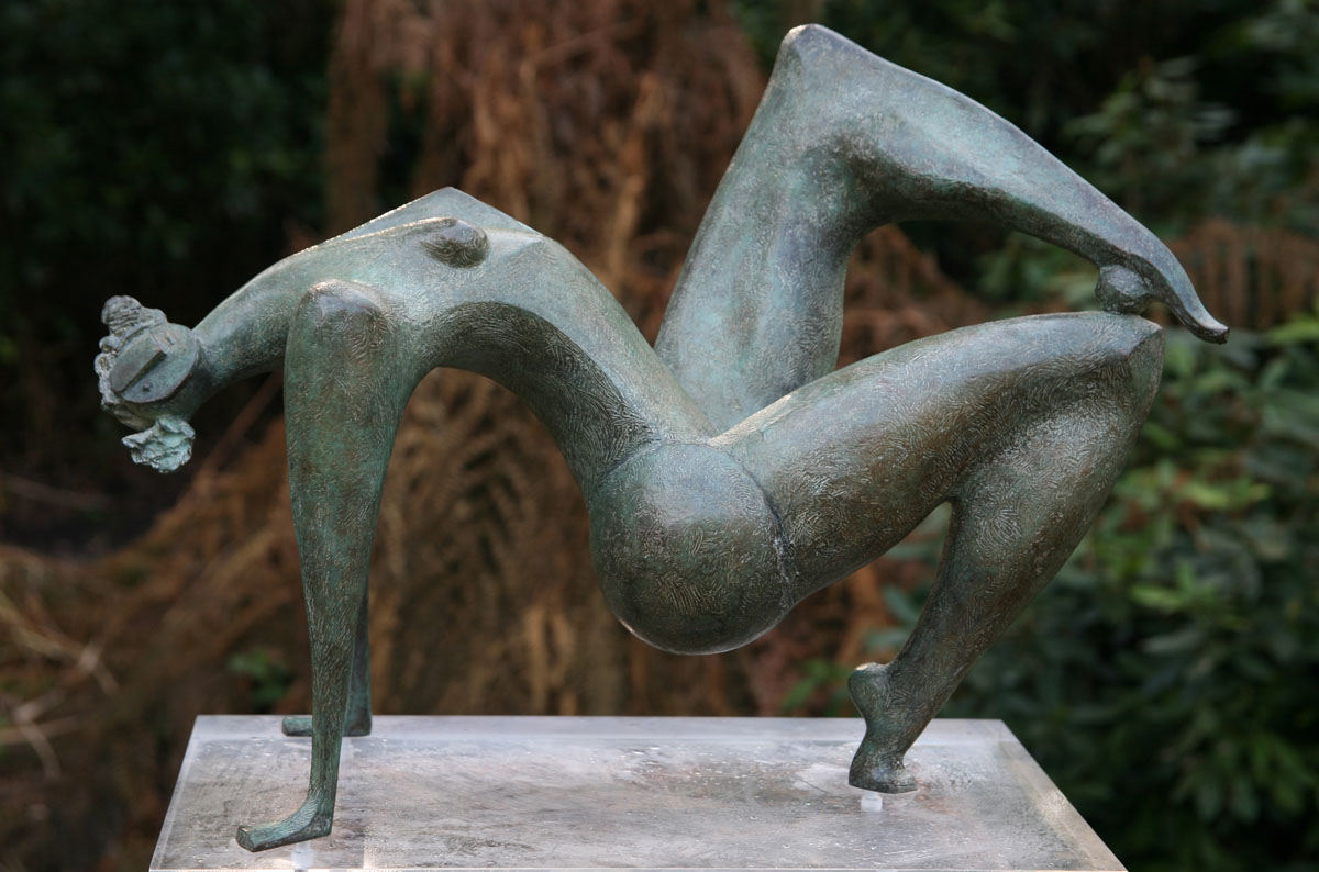 Isaac Kahn, Bronze, edition of 9, 48cms wide by 40cms high, £4 - 6k060