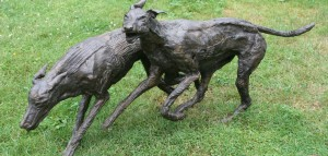 marjan wouda, bronze, animal sculptures,